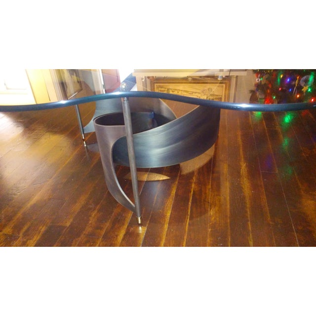 Mid-Century Propeller Base Coffee Table - Image 6 of 9