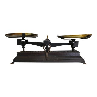 French Vintage Iron Scale