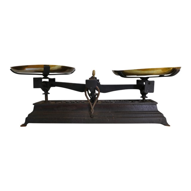French Vintage Iron Scale - Image 1 of 6