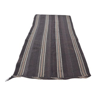 Vintage Turkish Kilim Rug - 4′3″ × 8′9″