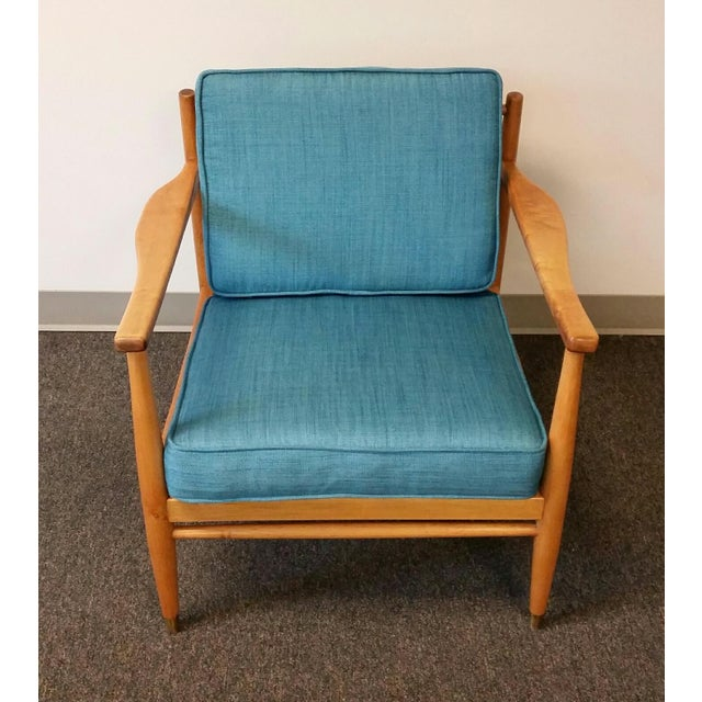 Baumritter Styled Mid-Century Lounge Chairs - Pair - Image 4 of 8