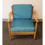 Image of Baumritter Styled Mid-Century Lounge Chairs - Pair