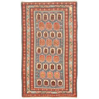 Antique 19th Century Caucasian Rug