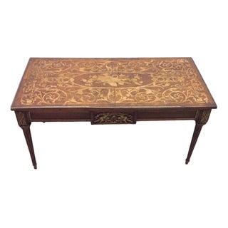 Ormulu & Marquetry Italian Antique Coffee Table