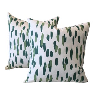 Mill Reef Palm Pillows - A Pair