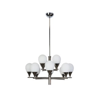 Mid-Century Modernist Chandelier By Stilnovo