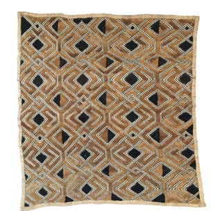"Vintage Kuba Textile - 20.5"" x 19"""
