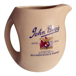 Vintage John Begg Whisky Jug