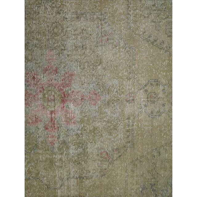 Shabby Chic Turkish Rug - 4'4'' X 7'1'' - Image 6 of 6