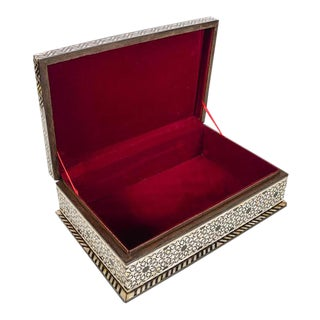 Syrian Mother of Pearl Box