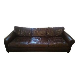 Restoration Hardware Original Lancaster Leather Sofa