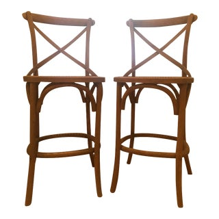 Gently used restoration hardware furniture up to 50 off at chairish - Madeleine bar stool ...