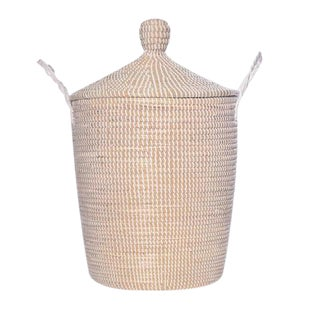 Minimalist Lidded Fair Trade Basket