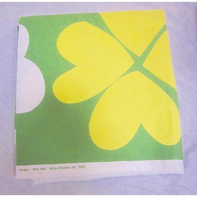 Danish Modern Fabric Panel, Swedish Pop Art - Image 4 of 11