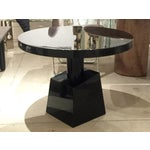 Image of Transitional Style Black Occasional Table