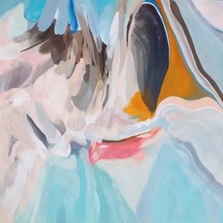 "Irena Orlov ""Environmental Vibrations 7"" Original Abstract Oil Painting"