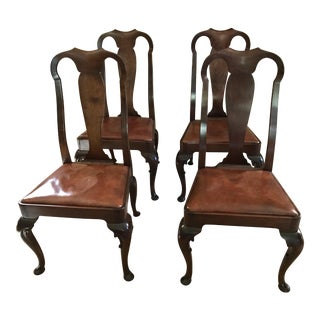Queen Anne Side Chairs - Set of 4