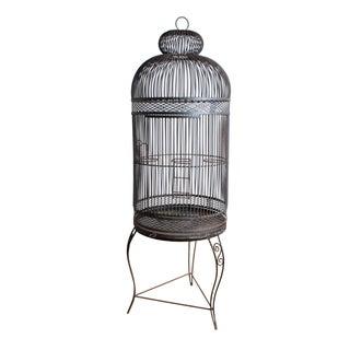 Vintage Iron Birdcage