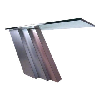 Stylish Modern Cantilever Console Table