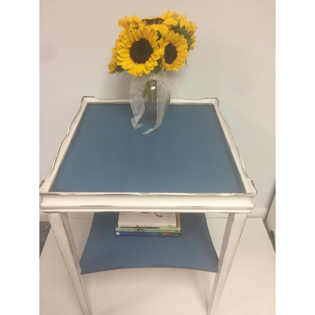 Distressed Painted Side Table - Image 5 of 6
