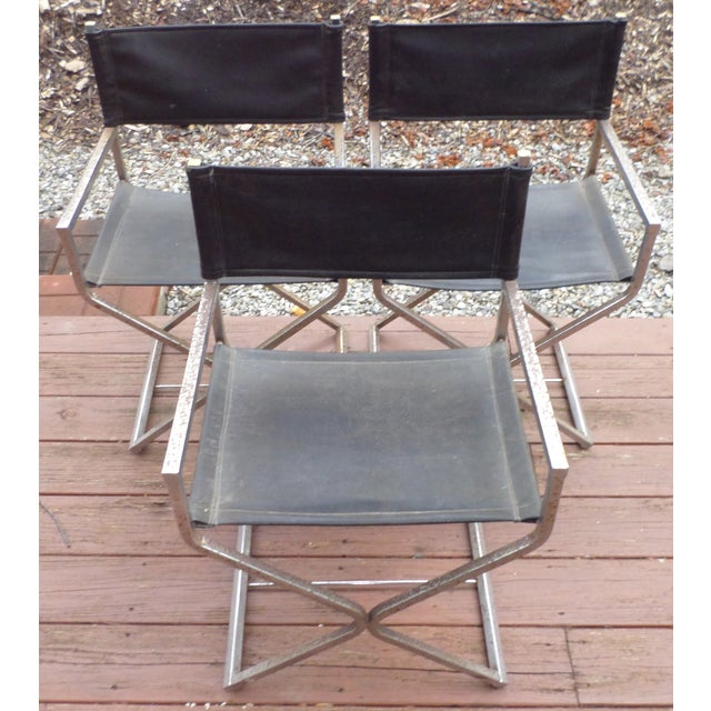 Directors Chairs - Mid Century Modern - Trio - Image 11 of 11