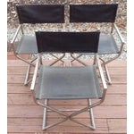 Image of Directors Chairs - Mid Century Modern - Trio
