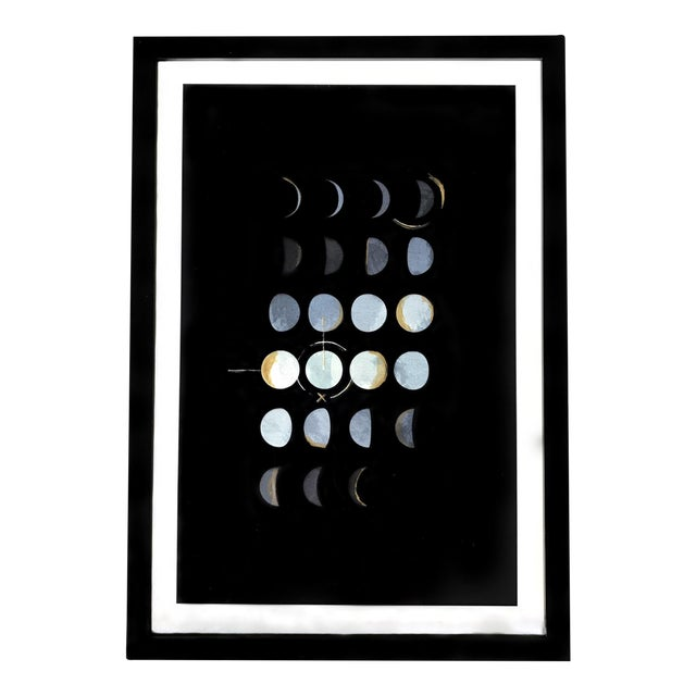 Moon Phases Framed Print - Image 1 of 3