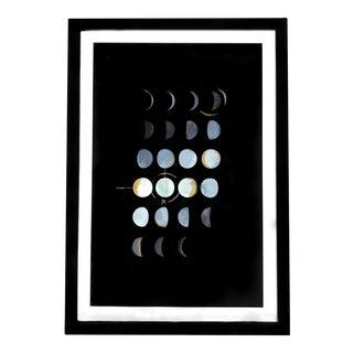 Moon Phases Framed Print