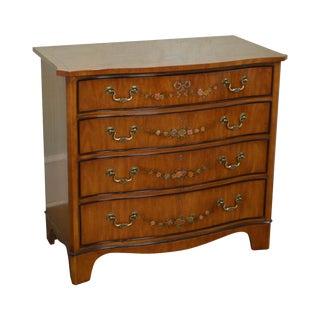Drexel Heritage Serpentine Chest of Drawers