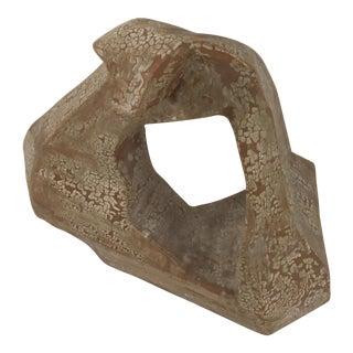 Mid 20th Century Terra-Cotta Abstract Sculpture