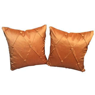 Salmon Pillows - A Pair