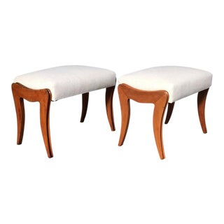 Amazing Pair of Stools Ico Parisi Style