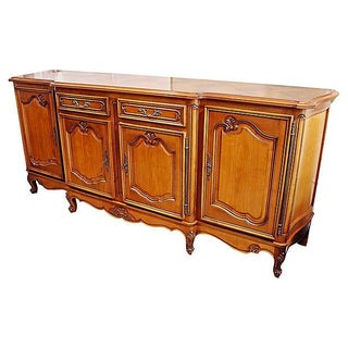 French Four-Door Cherry Buffet