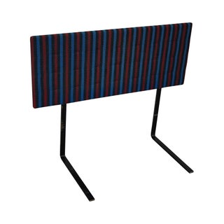 Knoll Mid-Century Striped Headboard