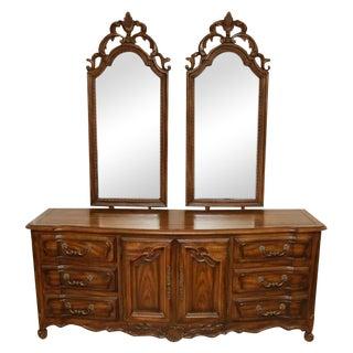 Century Furniture Double Mirror Dresser
