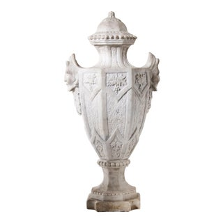 Large Pair of Victorian Marble Finials