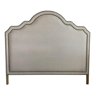 Queen Nailhead Trim Headboard
