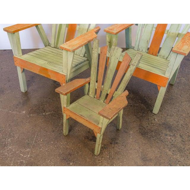 Family Set of Adirondack Chairs - Image 9 of 11
