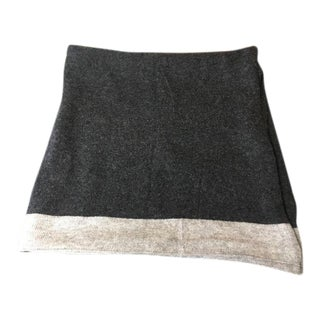 Two-Tone Cashmere Blend Throw