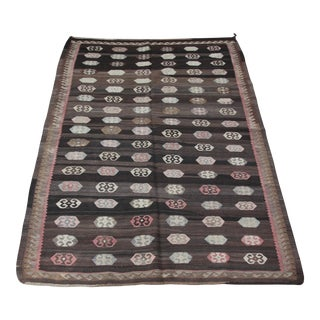 Turkish Kilim Rug - 5′8″ × 10′2″