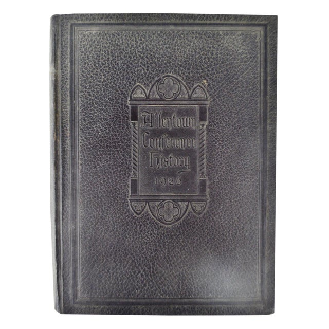 1926 Allentown Conference Hardcover History Book - Image 1 of 10