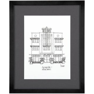 McAlpin Hotel, Miami Beach Framed City Print