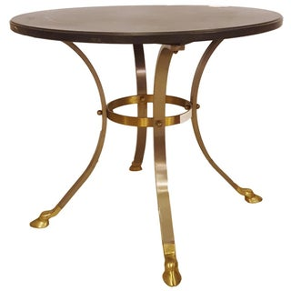 Maison Jansen-Attributed Ebonized Gueridon Table