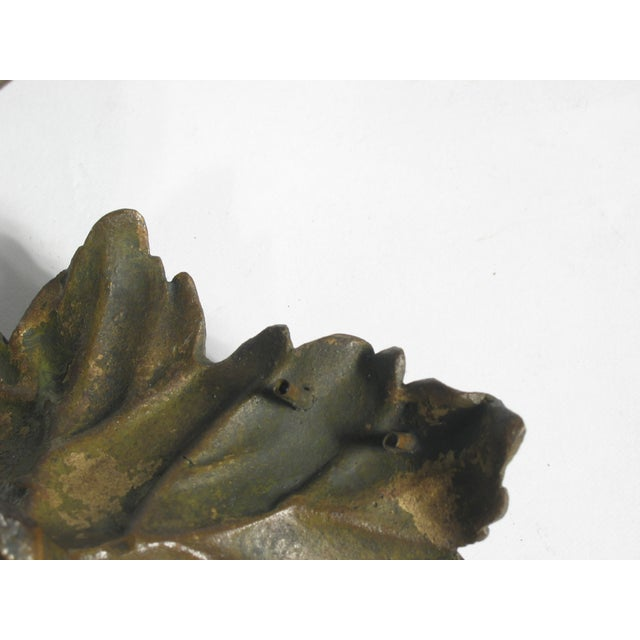Image of Bronze Grapes Decorative Object