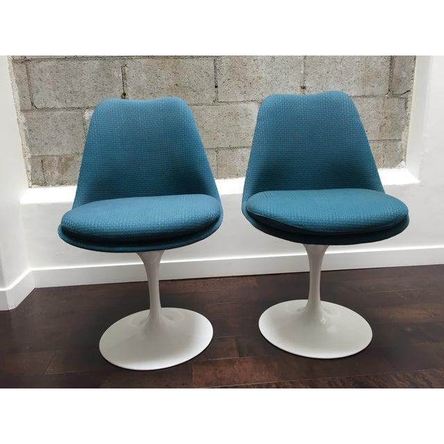 Eero Saarinen for Knoll Tulip Chairs - Set of 6 - Image 6 of 10