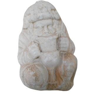 Ancient Greek Satyr Silenus Marble Sculpture