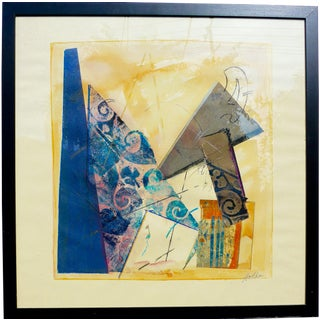 """Geometry"" Original Painting by Martha Holden"