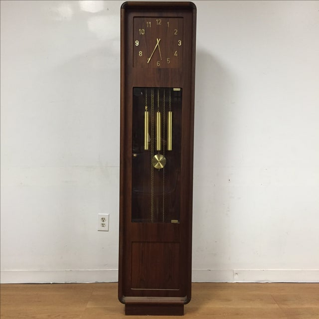 Danish Modern Grandfather Clock - Image 2 of 8