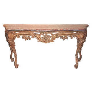 19th C. French Louis XV Console