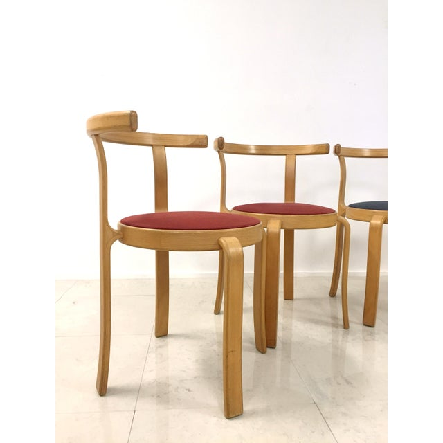 Danish Magnus Olesen Stacking Chairs - Set of 5 - Image 7 of 8